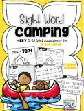 Sight Word Camping - a Fry Sight Word Assessment Kit