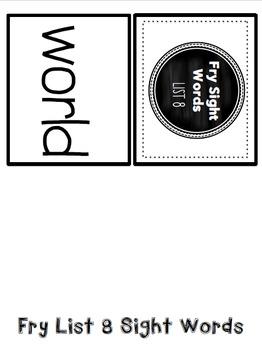 Sight Word Card Bundle