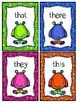 Sight Word Card Bundle {K-3rd Grades}