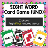 Sight Word Card Game [UNO] - Set 1