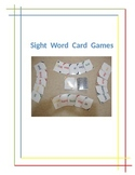 Sight Word Card Games
