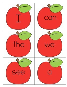 Sight Word Card Sets: Wonders