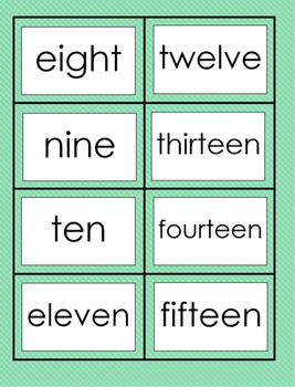 Sight Word - Word Wall - Daycare & Homeschool Resource