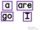 Sight Word Cards - For Bulletin Boards