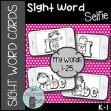 Sight Word Cards (Fry Words 1-25)