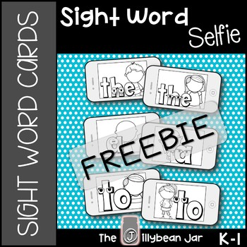 Sight Word Cards (Fry Words 1-5)