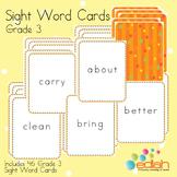 Sight Word Cards-Grade 3