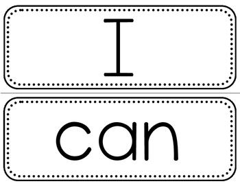 Sight Word Cards - Kindergarten & First Grade