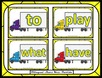 Sight Word Cards Pre-Primer Dolch Words for a Sand Box Kinesthetic Activity
