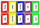 Sight Word Cards Set 4