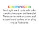 Sight Word Cards (Spanish version) - Kindergarten & First Grade