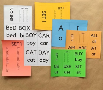 Sight Word Cards | Upper and Lower Case Dolch Sight Words | High Frequency Words