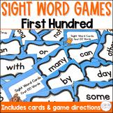Sight Word Center Cards 1st Hundred