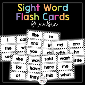 Polka dot, Sight Word Cards, practice, word work, stations