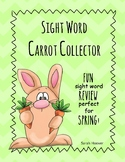 Sight Word Carrot Collector