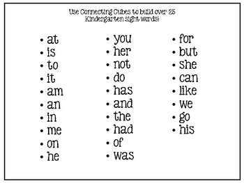 Build a Sight Word