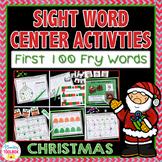 Christmas Sight Word Activities