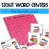 #BundleBonanza Sight Word Centers (The Bundle Pack!)