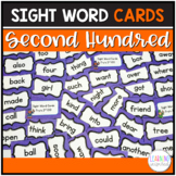 Sight Word Center Cards 2nd Hundred