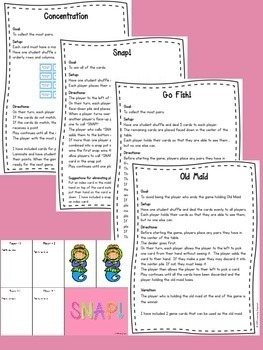 Sight Word Center Cards (Fry's 3rd Hundred)