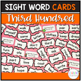 Sight Word Center Cards 3rd Hundred