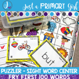 Sight Word Center | Fry 100 Bundle
