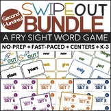 Fry Sight Words Center (Swipeout Second 100 Bundle)