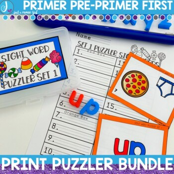 Sight Word Center | Dolch Bundle