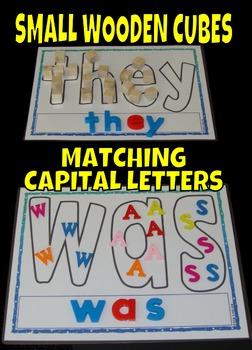 Sight Words Center Literacy Center Fry Words First 100 1-100 Fill In Word Mats