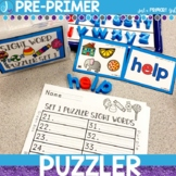 Sight Word Center | Pre-Primer Dolch