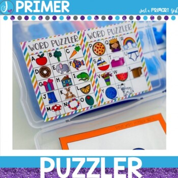 Sight Word Center |Primer Dolch