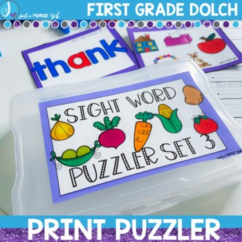 Sight Word Center |First Grade Dolch