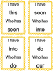 Primer Sight Words- I have... Who has?