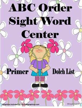 Sight Word Center (Primer/Dolch List)