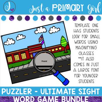 Sight Word Center | Word Work