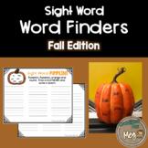 Sight Word Center for Kindergarten and First Grade