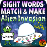 Sight Word Centers 220 Words Sight Word Activities Outer S