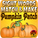 Sight Word Centers 220 Words Sight Word Activities Pumpkin Centers Fall