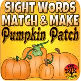 Sight Word Centers 220 Words Sight Word Activities Pumpkin