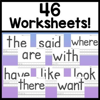 Second Grade Literacy Centers with Q-Tips and Paint {46 words!}
