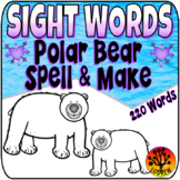 Sight Word Centers Activities 220 Words Polar Bear Centers
