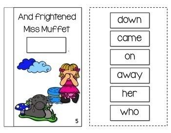 Little Miss Muffet Interactive Book