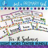 Sight Word Centers Bundle