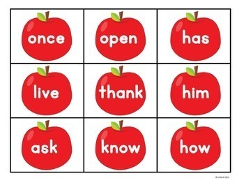 Sight Word Centers Bundle: First Grade List
