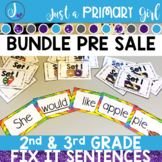 Sight Word Centers Bundle 2nd and 3rd Grade
