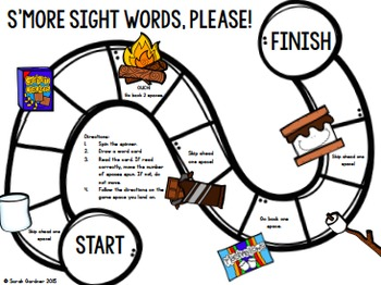 Sight Word Centers (First Grade)