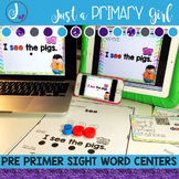 Sight Words Interactive Video Pre Primer
