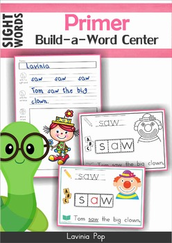 Sight Word Centers Primer BUNDLE