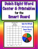 Smart Board-Kindergarten Sight Word Centers & Printables for the Smart Board