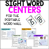 Sight Word Centers for The Portable Word Wall-Sight Word Games